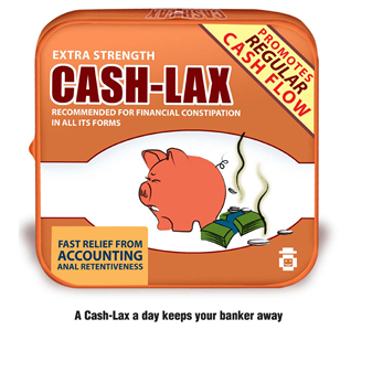 Cash-Lax - Financial Fun and Accountant Humor
