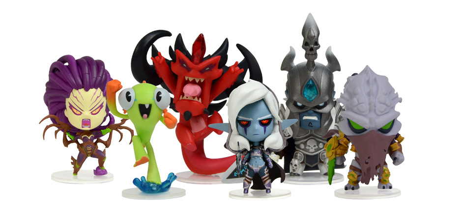 Blizzard Cute But Deadly Series 1 Happy Worker Toys