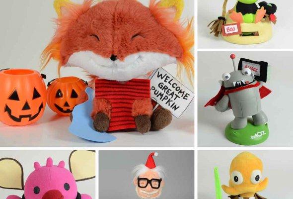 Happy Worker toys in Halloween customs