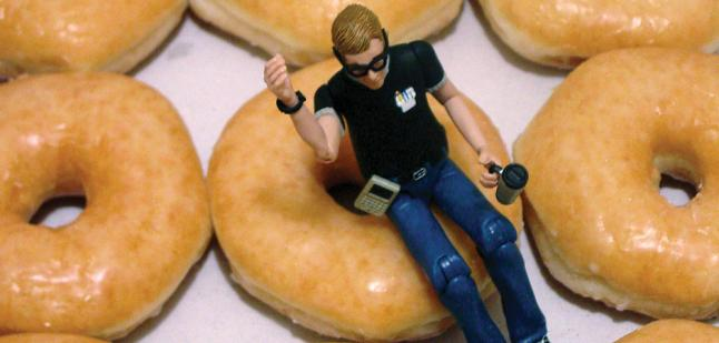 GeekMan and Donuts