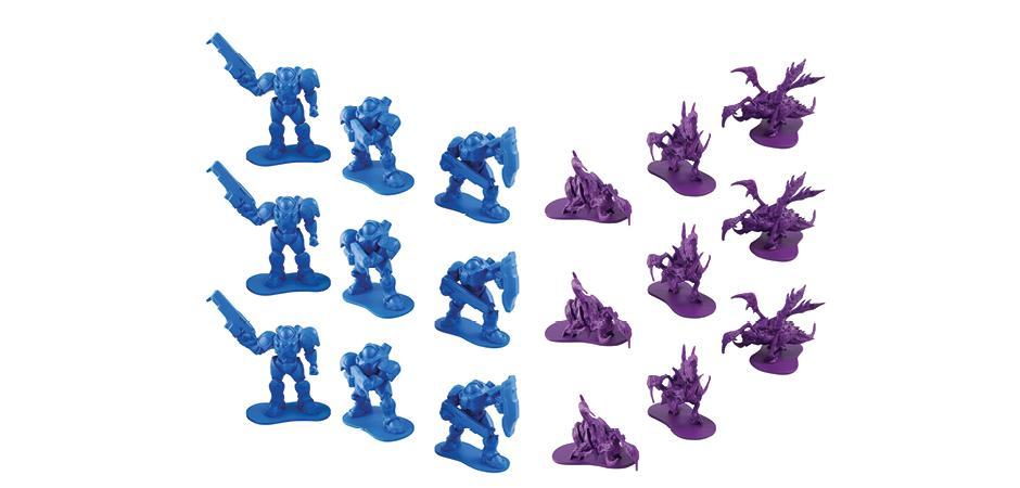 BlizzCon Marine and Zergling Mini Figures