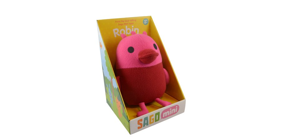 Sago Sago Robin Plush Toy Box