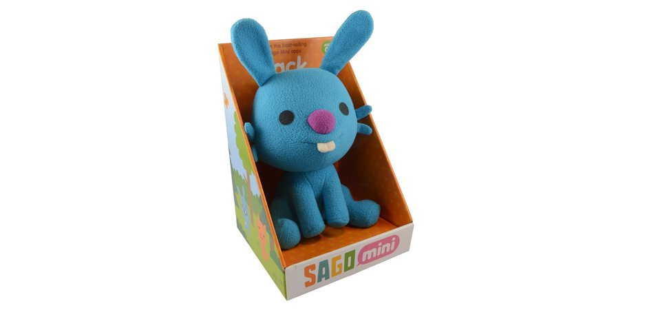 Sago Sago Jack Plush Toy Box