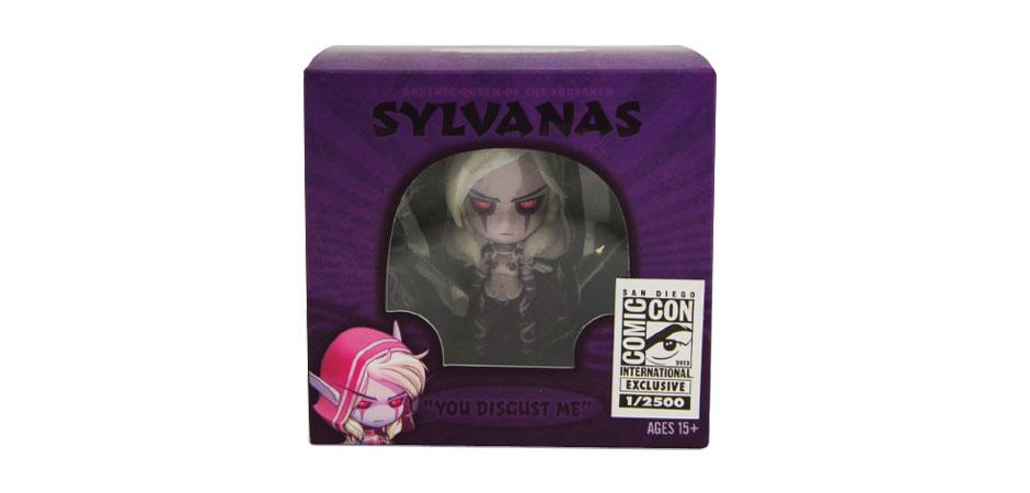 World of Warcraft Sylvanas Vinyl Figure Packaging