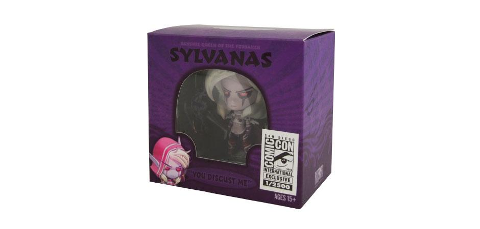World of Warcraft Sylvanas Toy Packaging