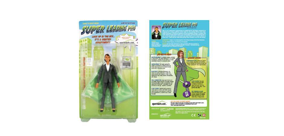 Super Leasing Pro Custom Action Figure Packaging