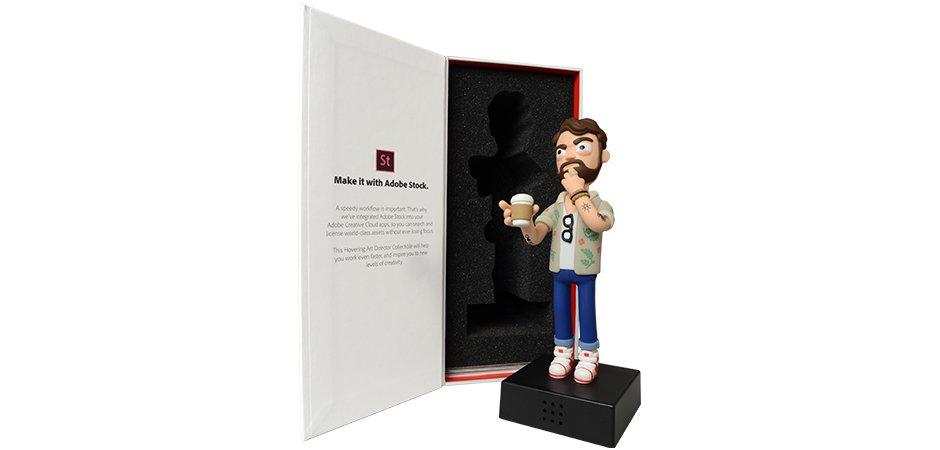 Adobe Action Figure