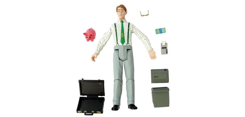 MoneyMan Action Figure with Accessories