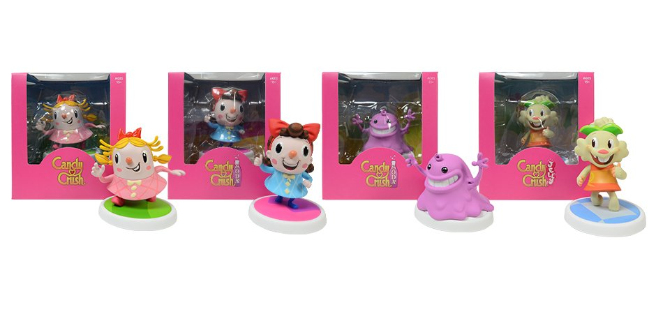 Candy Crush Figures
