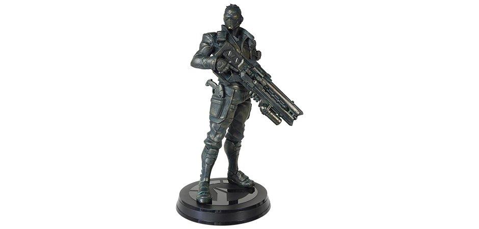 Blizzard Soldier 76 Overwatch Resin Statue Front