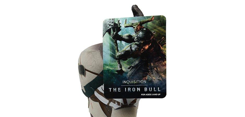 Iron Bull Skyrim Plush