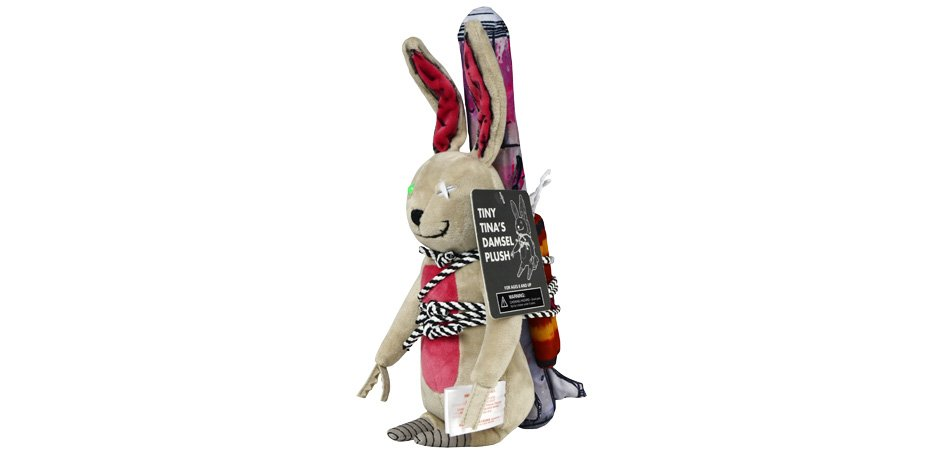 Borderlands Tiny Tina Collector Plush Rabbit ThinkGeek