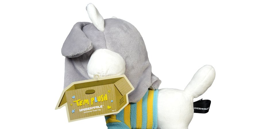 Fangamer Toby Fox Undertale Temmie Soft Toy