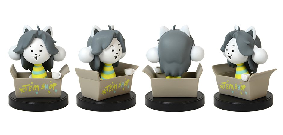 Undertale Little Buddies Series 2 Temmie