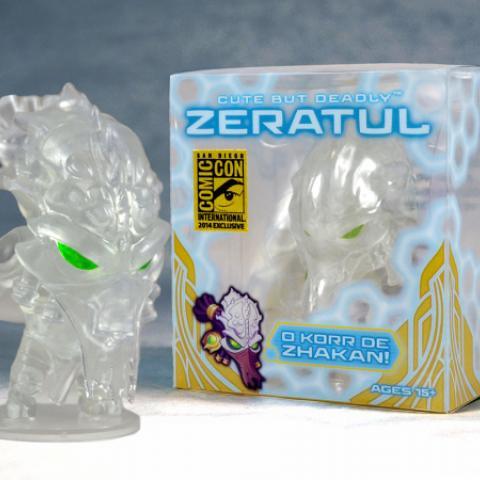 Blizzard Cute but Deadly Zeratul Figure and Box