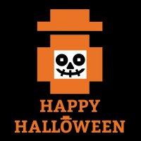 Happy Worker Halloween Logo