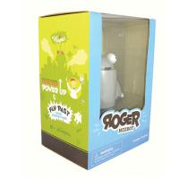 Custom vinyl Toy Package for Roger MozBot