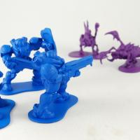 Starcraft 2 Figurines Battling
