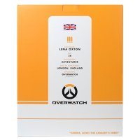 Overwatch Tracer Statue Box