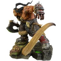 Blizzard World of Warcraft Grommash Hellscream Statue