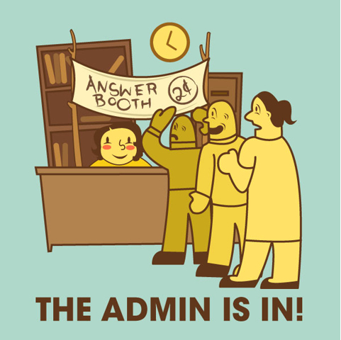 Administrative Professionals: The Admin is In!