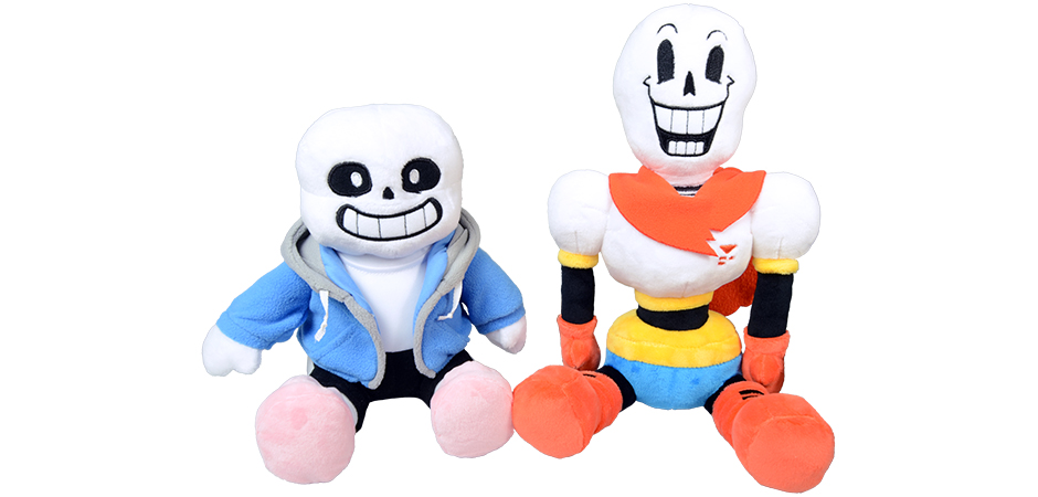 Undertale Sans And Papyrus Plush For Fangamer And Toby Fox