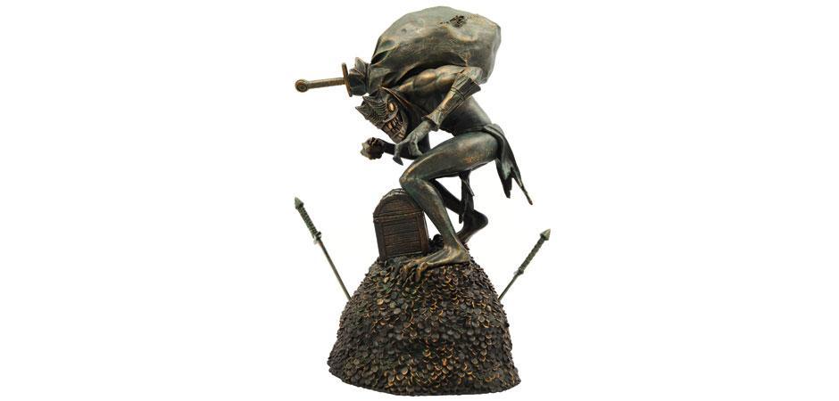Blizzard Treasure Goblin Resin Figurine