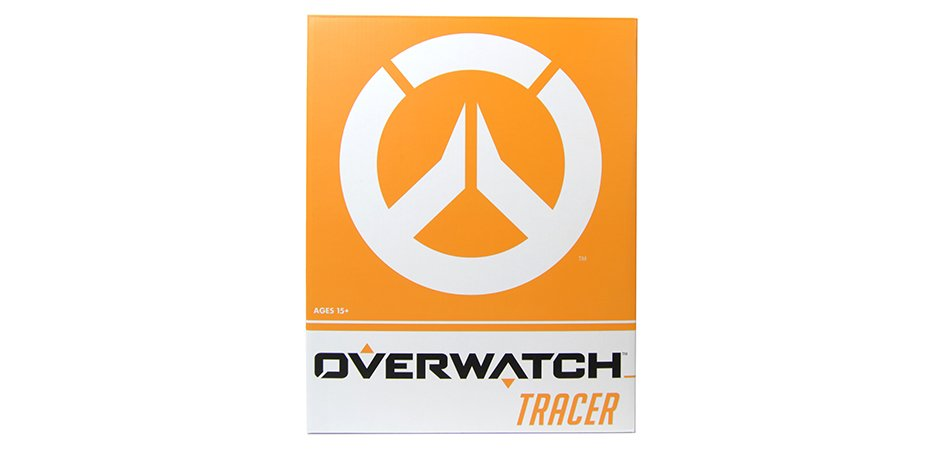 Overwatch Tracer Statue Packaging