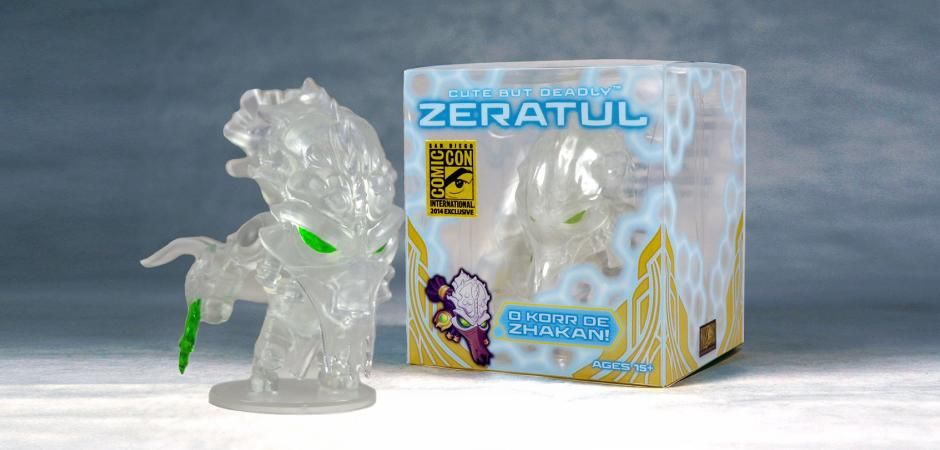 Blizzard Zeratul Figure and Box