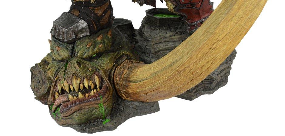 World of Warcraft Blizzard Grommash Hellscream Statue