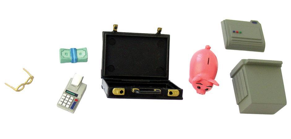 MoneyMan Accountant Toy Accessories