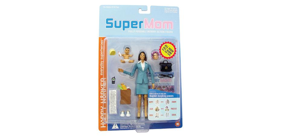 SuperMom Doll Package