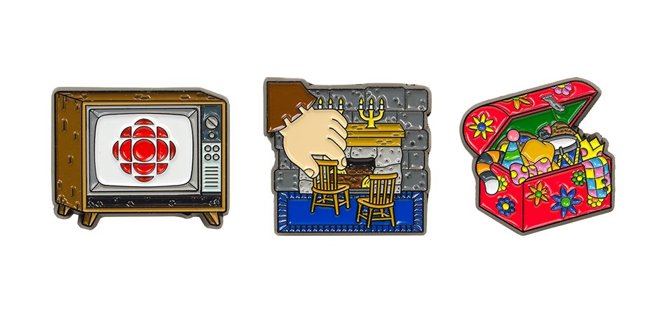 For the Love of Canada Pins