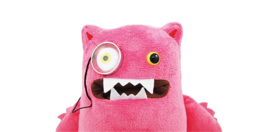 Luxamillion Custom Soft Stuffed Toy by Toy Maker Happy Worker