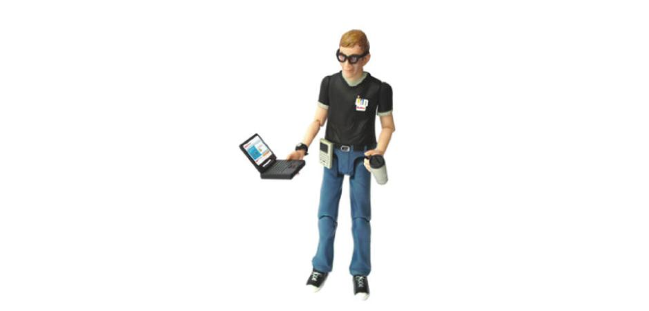 McAfee IT Security Action Figure