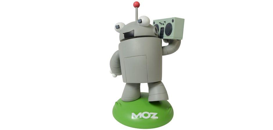 Moz Roger Bottle Head Figure
