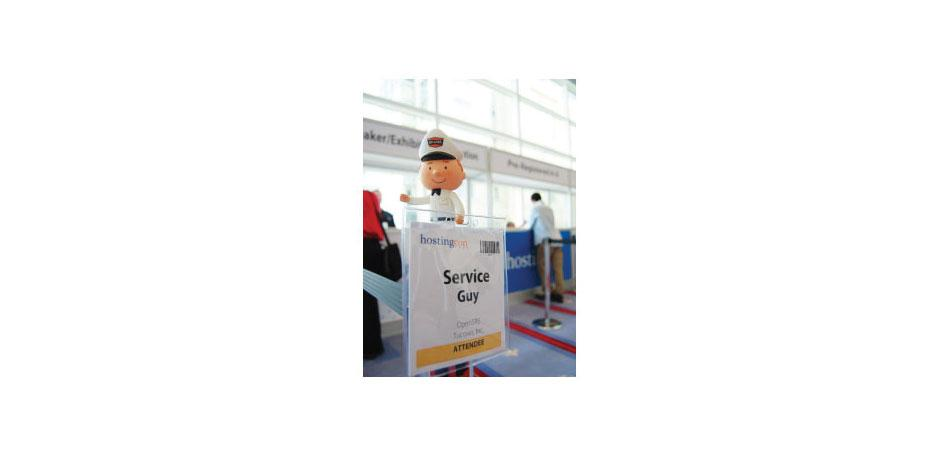 Tucows OpenSRS Custom Service Guy Toy
