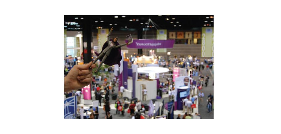 Recruiter Action Figure at SHRM