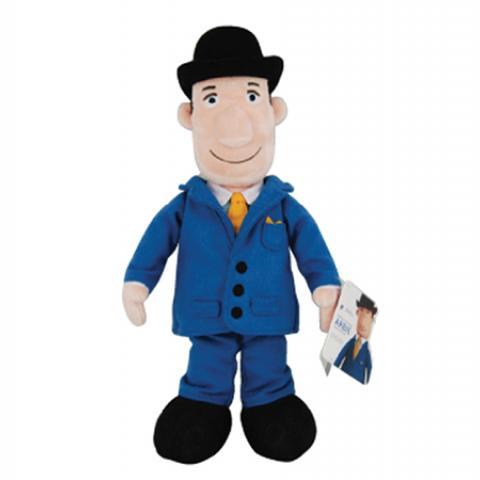 Custom Royal Bank of Canada plush doll