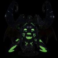 Illidan Glowing in the Dark