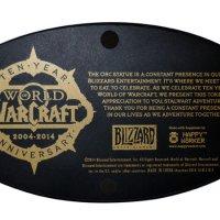 World of Warcraft Orc Wolfrider Figure