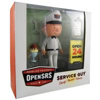 Tucows OpenSRS Service Guy Action Figure